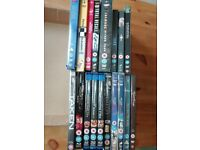 18 sci fi, action, family dvds/blu rays - job lot!