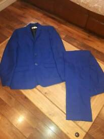 Boys navy blue 2 piece suit (12 - 13 years)