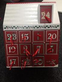 Double sided advent calendar