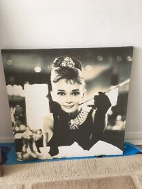 Breakfast at Tiffany's / Audrey Hepburn Canvas