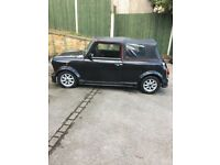 Mini thirty convertible h reg classic mot August clean car for age new roof seats refurbished