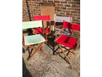 4 directors Chairs