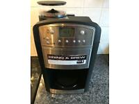 Russell Hobbs Grind and Brew Coffee machine