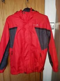 Trespass men's red ski jacket Medium