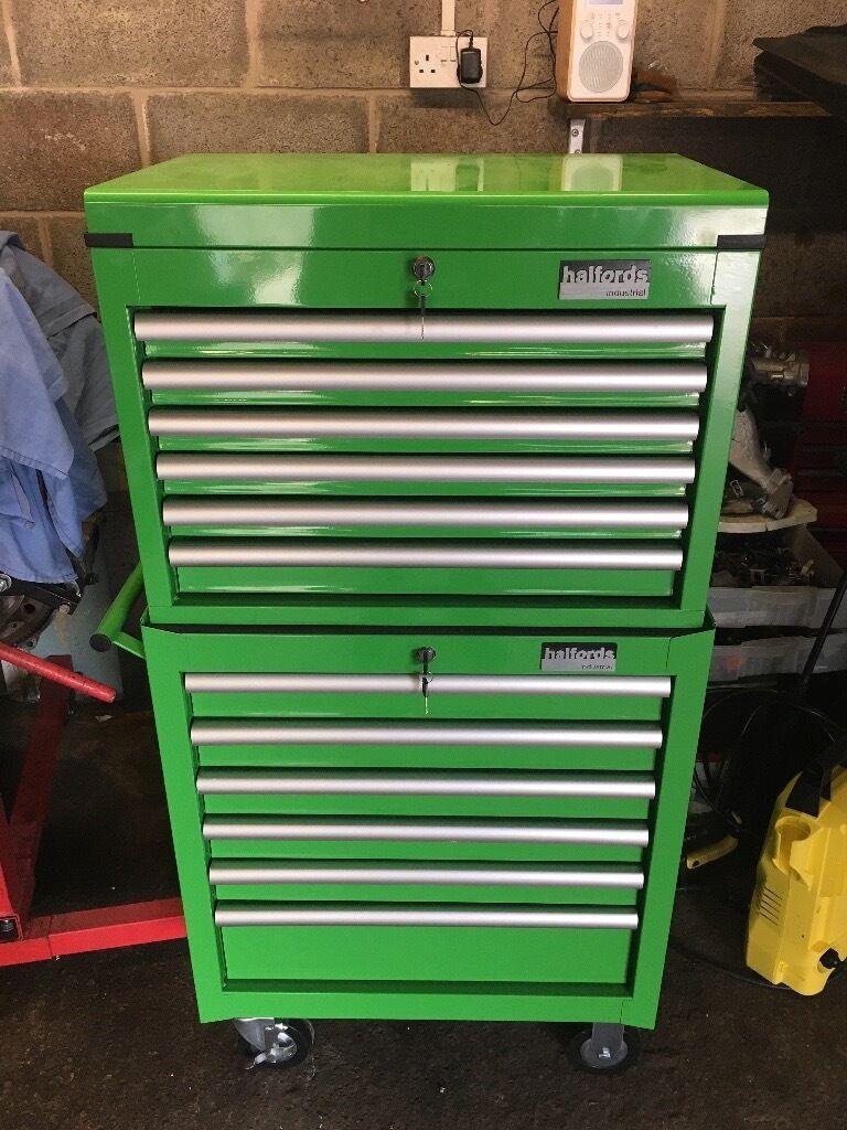halfords industrial tool box tool chest welder snap. Black Bedroom Furniture Sets. Home Design Ideas