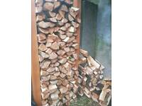 Hard wood logs