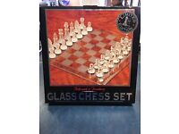 Arbroath & Turnbury Glass Chess Set