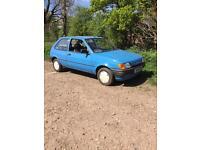 Classic Ford Fiesta mk3 like mk1 mk2 retro