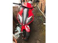 50cc moped CPI GTR