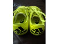 Adidas football boots. As new