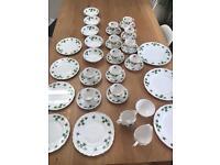 Gorgeous vintage Colclough bone china tea set plus plates and bowls