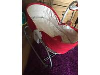Tiny love rocker/baby chair/moses 3in1