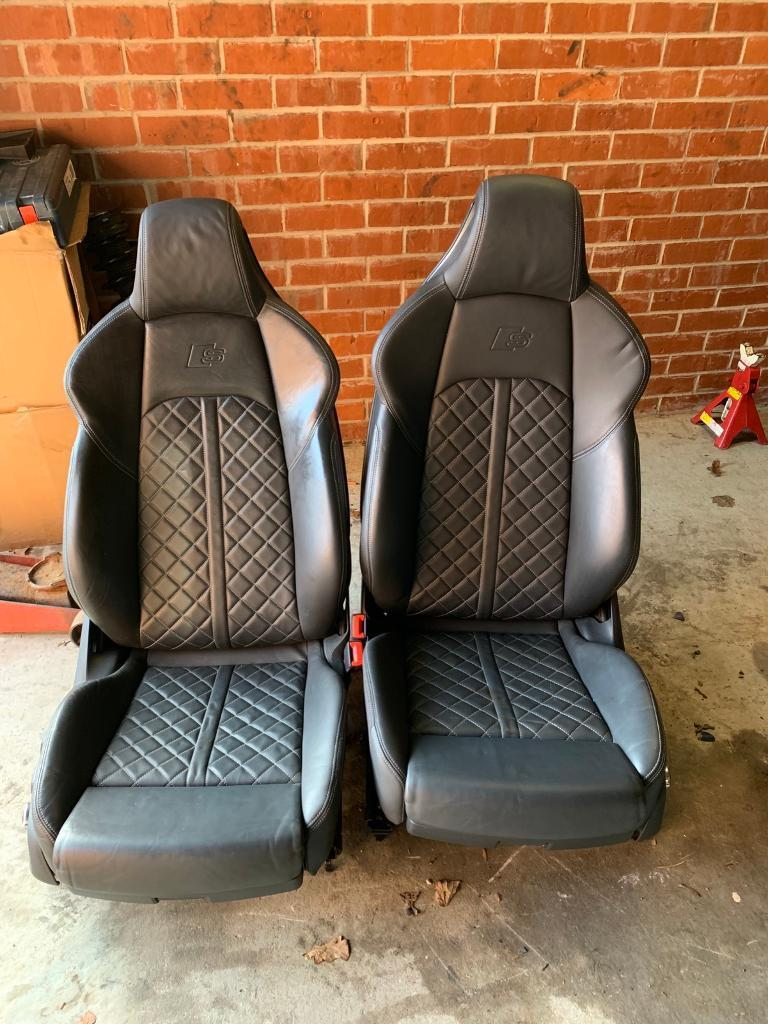 Fabulous Audi S4 A4 B9 Full Nappa Leather Super Sports Seats Interior In Hull East Yorkshire Gumtree Spiritservingveterans Wood Chair Design Ideas Spiritservingveteransorg