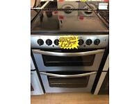 NEWWORLD 60CM CEROMIC TOP ELECTRIC COOKER IN SILIVER