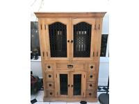 Vintage/Authentic Indian teak wood cabinet