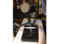 Realistic 21-9031 Amplified Dynamic Microphone CB Ham Radio Desktop Base Mic