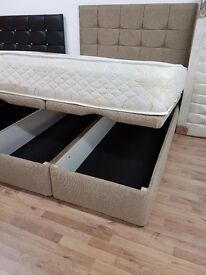 STORAGE OTTOMAN DOUBLE BED