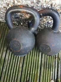 20kg kettlebells