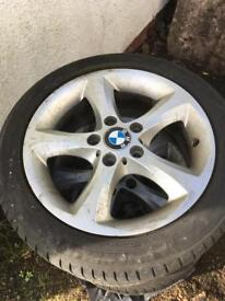 Genuine E87 BMW 1 Series Alloys 17""