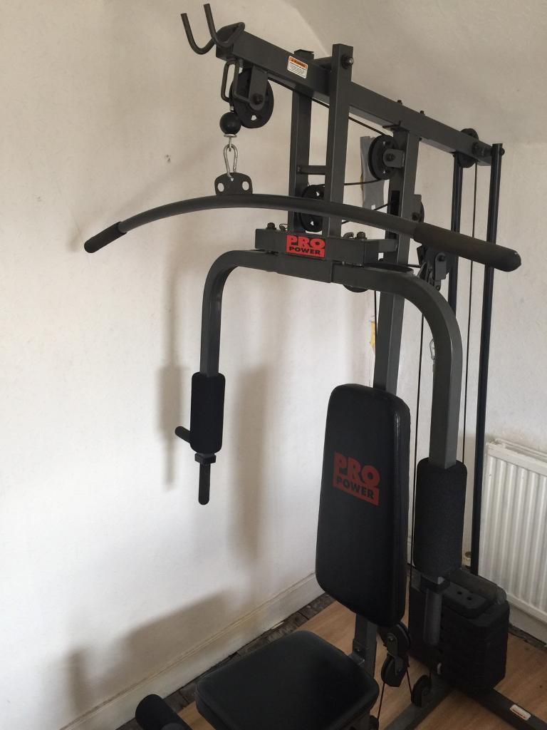 Argos power pro multi gym.