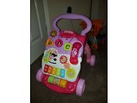 Vtech walker and ride on car