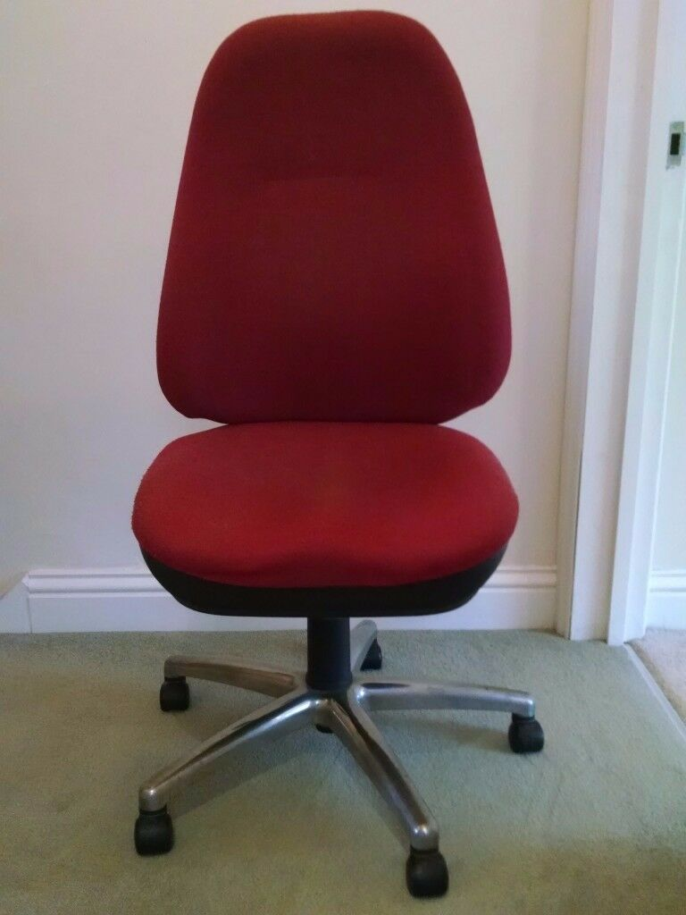 THERAPOD ORTHOPAEDIC OPERATOR CHAIR in RED