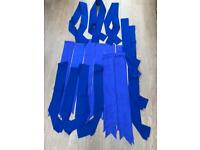 Blue sach's.
