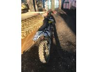Honda CRF 250 dirt bike
