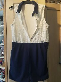 Womens playsuit size 12