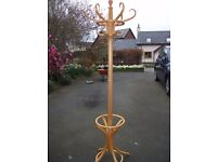 Pine Hat and Coat Stand