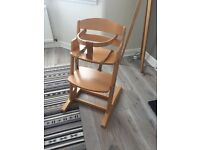 BabyDan Wooden Highchair