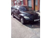 Black Chrysler PT Cruiser 2.0 Automatic 04 Reg