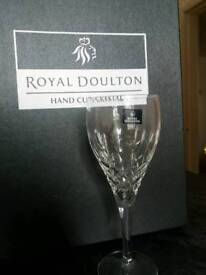 Crystal Wine Glasses - Royal Doulton