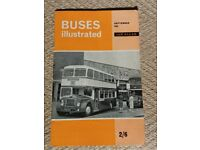 BUS MAGAZINES BUSES ILLUSTRATED & BUSES