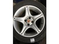 MG 15 inch alloy wheels &tyres