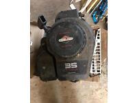 Petrol lawn mower engine