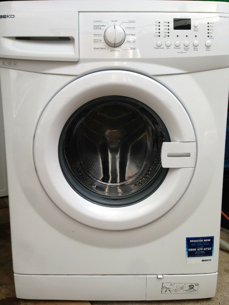BEKO Washing Machine - Excellent cond - Hose & Manual **Can deliver in North