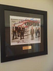 Reservoir Dogs Framed SIGNED
