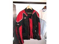 Moped/motorbike jacket and inner winter jacket