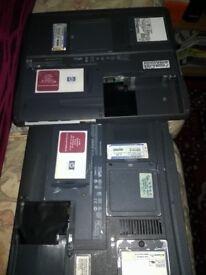 2 X Old HP laptop parts
