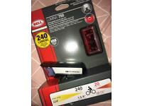 BIKE LIGHTS SET BELL NEW