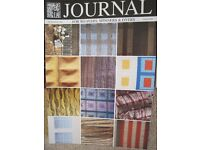 Back copies of the Journal for Weavers, Spinners and Dyers.