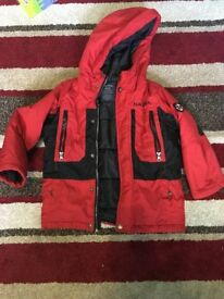 Kids Boys winter coat - Nautica & Fireman Sam