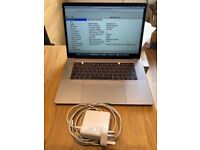 MacBook Pro, 15inch, Current Model, 2.8-i7, Touch Bar, Space Grey, 3yr Apple Care