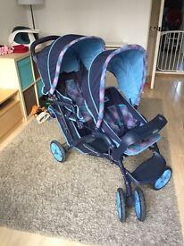 Mothercare double pram