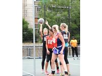 Netball - Social Leagues for Males and Females