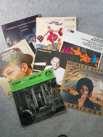 Job lot of 45 albums, LP's, mainly classical, jazz, ballet, film soundtrack