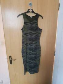 Camouflage River Island Dress size 8