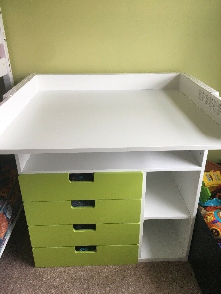 IKEA baby changing unit/table for a toddler 2 in 1