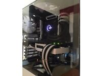 "Extreme Gaming PC x99, i7 5820k @ 4.2 GHz 32GB DDR4 500sd + 1,5TB HDD MATRIX ROG 780ti 27"" LCD"